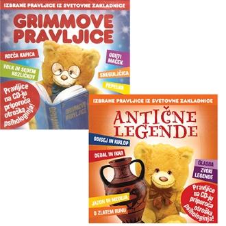 CD ANTIČNE LEGENDE+GRIMMOVE PRAVLJICE