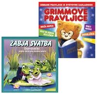 CD GRIMMOVE PRAVLJICE IN ŽABJA SVATBA
