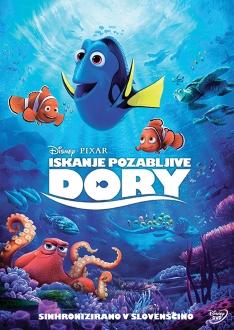 DVD ISKANJE POZABLJIVE DORI