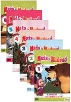 DVD MALA MAŠA IN MEDVED 6 DVD