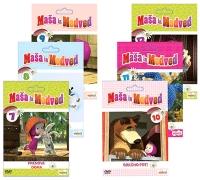DVD MAŠA IN MEDVED 7-12 6 DVD