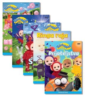 DVD TELEBAJSKI 5 DVD