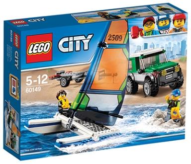 LEGO CITY VELIKO VOZILO S KATAMARANOM