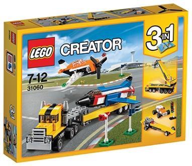 LEGO CREATOR LETALSKI ASI 3V1