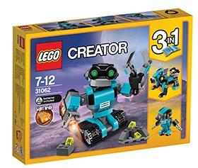 LEGO CREATOR ROBORAZISKOVALEC