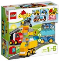 LEGO DUPLO MOJI PRVI AVTOMOBILI IN TOVORNJAKI