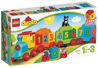 LEGO DUPLO ŠTEVILSKI VLAK