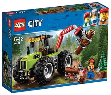 LEGO CITY GOZDNI TRAKTOR