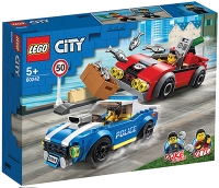 LEGO CITY POLICE ARETACIJA NA AVTOCESTI