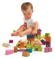 LESENE KOCKE 50 KOS HAPPY BUILDING BLOCKS!