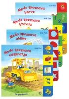 MEDO SPOZNAVA ŠTEVILA+OBLIKE+BARVE+NASPROTJA