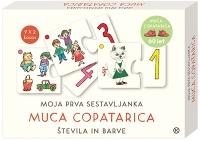 MUCA COPATARICA-ŠTEVILA IN BARVE SESTAVLJANKA