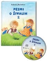 PESMI O ŽIVALIH 2 S CD