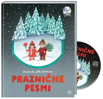 PRAZNIČNE PESMICE S CD