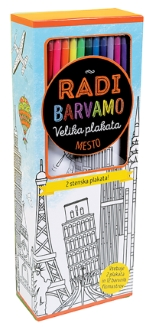 RADI BARVAMO-VELIKA PLAKATA MESTO